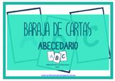 Baraja de cartas: abecedario (PACK CASTELLANO)