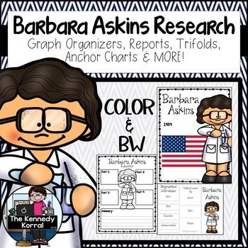 Barbara Askins: Biography Research Bundle {Report, Trifold