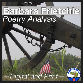 Barbara Frietchie by John Greenleaf Whittier Poetry Analysis