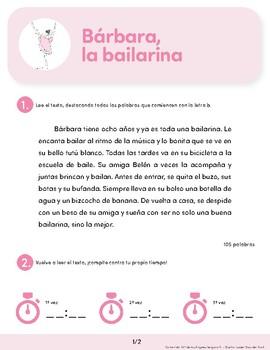 Bárbara la bailarina: Spanish Reading Guide