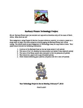 Barbary Coast Pirates Technology Project