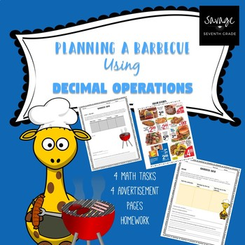 Planning a Barbecue using Decimal Operations