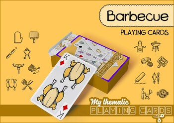 Barbecue Themed Playing Cards Deck