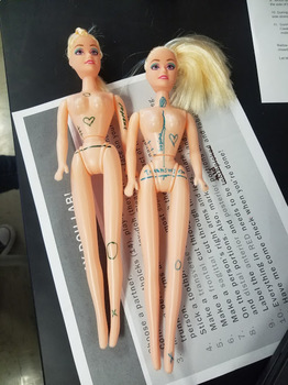 Barbie Doll Sports Physical
