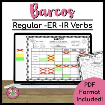 Barcos (Battleship) - Regular - ER/IR Verbs