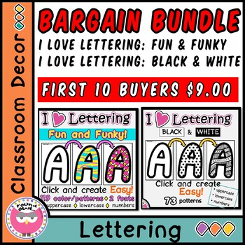 Bargain Bundle - I Love Lettering 2