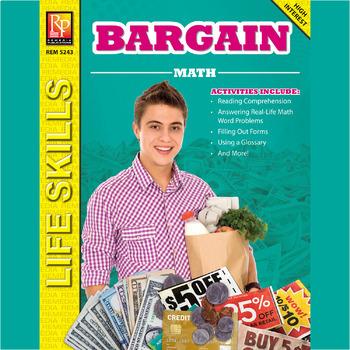 Bargain Math:  Life Skills Activities