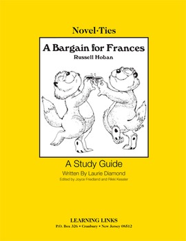 Bargain for Frances - Novel-Ties Study Guide