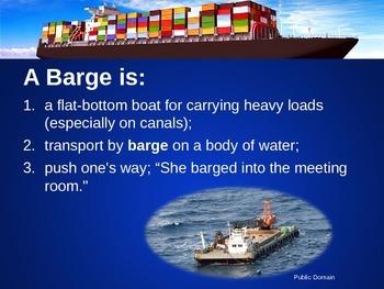 Barge Building ~STEM