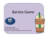 Barista Game