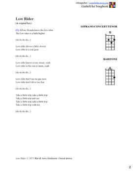Baritone GiebelUke Songbook