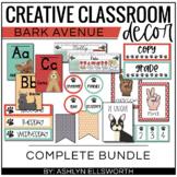 Bark Avenue Classroom Decor Bundle | Dog Theme