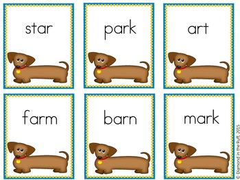 Bark, Bark Said the Puppy A tail waggin' -ar game