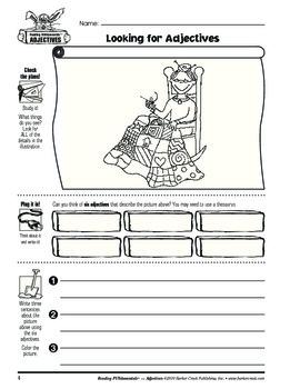 Barker Creek - Adjectives Activity Book