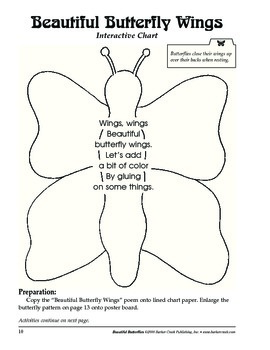 Barker Creek - Beautiful Butterflies Activity Book