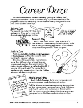 Barker Creek - Caps, Hats, and Monkeys Activity Book