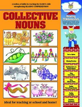 Barker Creek - Collective Nouns Activity Book