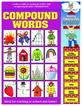 Barker Creek - Compound Words Activity Book