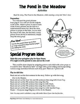 Barker Creek - Frog Frenzy Activity Book