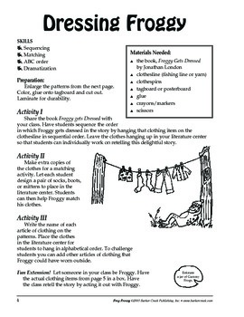 Barker Creek - Frog Frenzy Activity Book