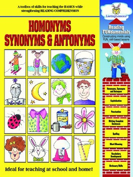 Barker Creek - Homonyms, Synonyms, & Antonyms Activity Book