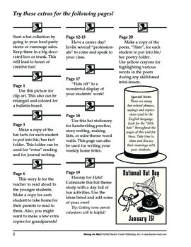 Barker Creek - Hooray for Hats Activity Book
