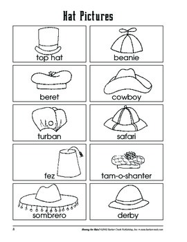 Barker Creek - Hooray for Hats Activity Book