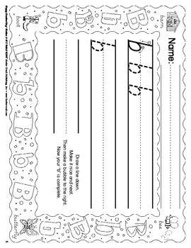 Barker Creek - Modern ABC Handwriting E-Book