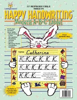 Barker Creek - Modern ABC Handwriting E-Book