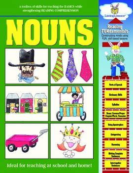 Barker Creek - Nouns Activity Book