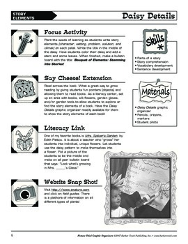 Barker Creek - Picture This! Graphic Organizer