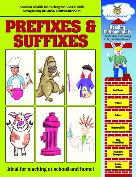 Barker Creek - Prefixes and Suffixes Activity Book