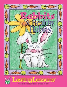 Barker Creek - Rabbits and Healthy Habits Activity E-Book