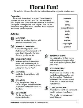 Barker Creek - Simply Sunflowers Activity Book