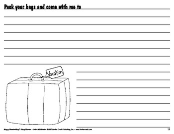 Barker Creek - Story Starters 3rd & 4th Grade E-Book
