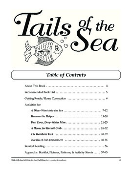 Barker Creek - Tails of the Sea Activity Book