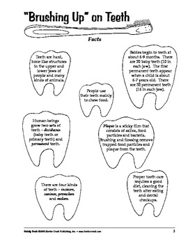 Barker Creek - Totally Teeth Activity Book