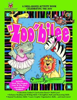 """Barker Creek - """"Zoo""""bilee Activity Book"""