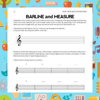 Barline Worksheet