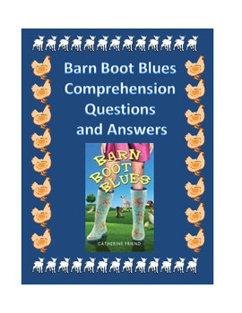 Barn Boot Blues Comprehension Question and Answers