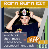Barn Burn: choir and music teaching song kit: full license included