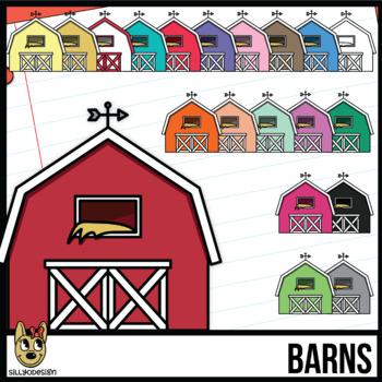 Barn Colors Clip Art