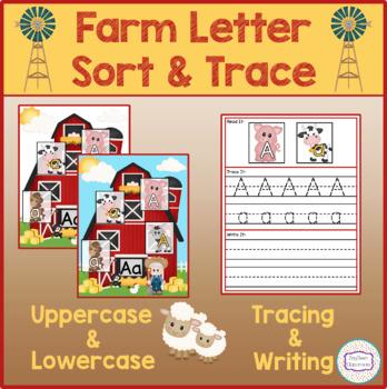 Barn Letter Sort & Trace