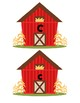 Barn Upper and Lower Case Matching Game