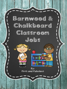 Barn Wood and Chalkboard Class jobs