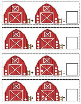 Barn Yard Addition and Subtraction