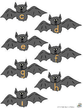 Barnabus Bat Letter Activities