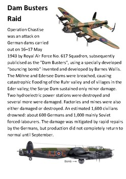 The Dambusters and Barnes Wallis Handout