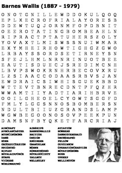 Barnes Wallis Word Search