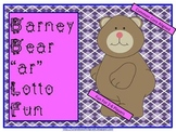 "Barney Bear ""ar"" Lotto Fun (Common Core Aligned)"